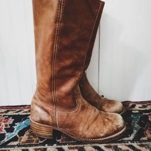 Frye Tall Campus Boots-Size 9